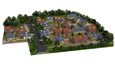 Hanborough Gate Show Home 3D Model
